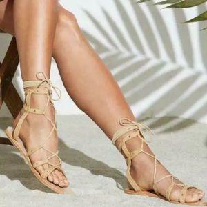 RAYE Sage Gladiator Sandals 10 Revolve
